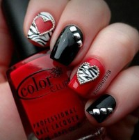 Simply Romantic and Sweet Nail Arts for Valentines Day ...