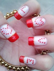 simply romantic and sweet nail