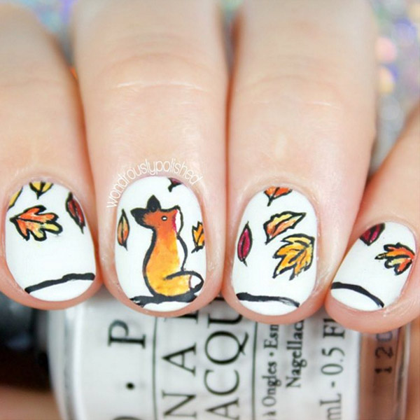 Fall Nail Art Design Ideas