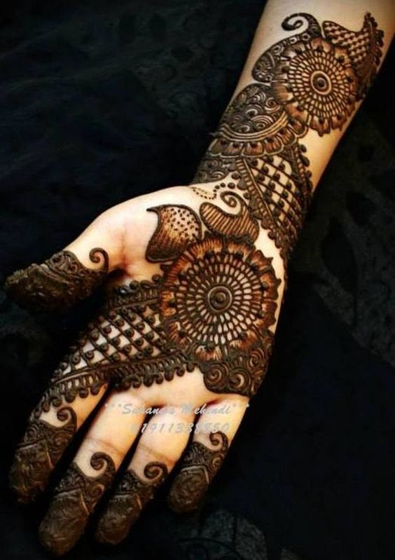New Latest Arabic Mehndi Design 2019