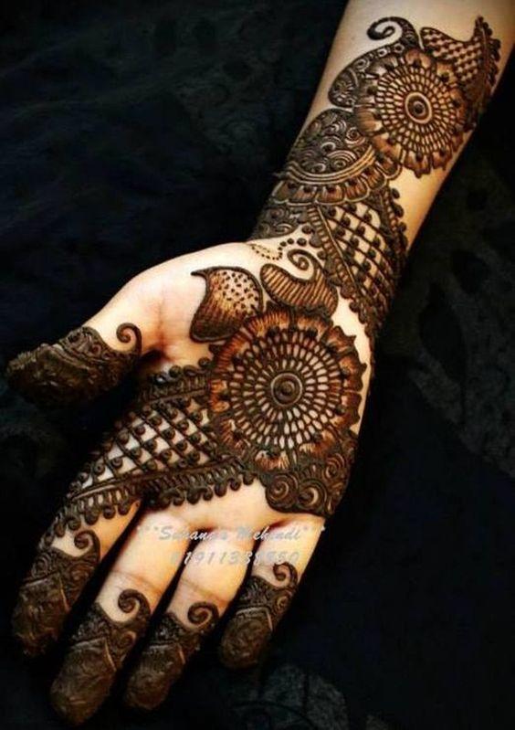 New Latest Arabic Mehndi Design 2019 Tattoos Ideas