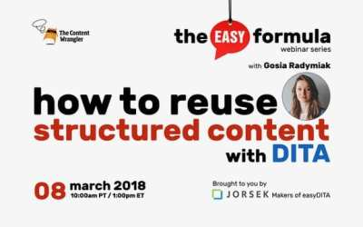Webinar: How to Reuse Structured Content With DITA