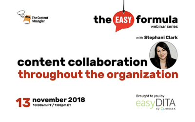 Webinar: Content Collaboration Throughout the Organization