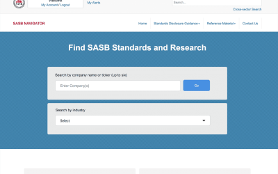 SASB Transforms the Sustainability Standards Landscape, Powered by easyDITA