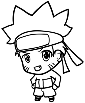 naruto chibi draw step easy drawing anime learn basic cartoon everything
