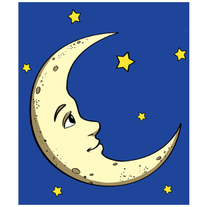 moon crescent draw easy step drawing drawings cresent beginner half steps clipartmag things tutorial