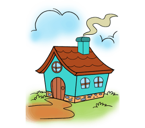 cartoon draw drawing easy clipart mansion steps drawings houses few haunted gretel hansel easydrawingguides igloo clipartmag step guides creative fire