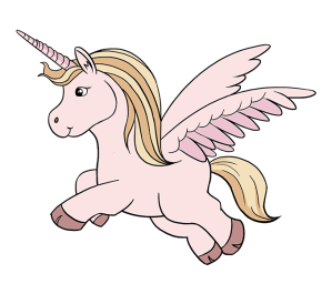 unicorn draw easy drawing drawings cartoon step steps few unicorns flying pencil wings looking easydrawingguides rainbow really cool guides learn