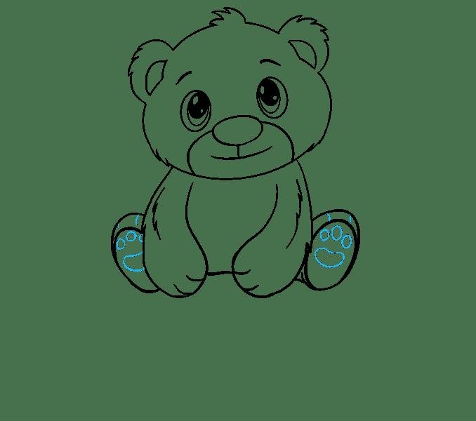 How to Draw a Polar Bear Cub in a Few Easy Steps