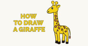 giraffe draw easy drawing drawings clipart tutorial really giraffes step cartoon easydrawingguides animals learn paintingvalley cliparts getdrawings giraff webstockreview library
