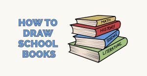 books draw drawing easy tutorial diys