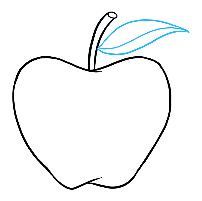 How to Draw an Apple: Really Easy Drawing Tutorial