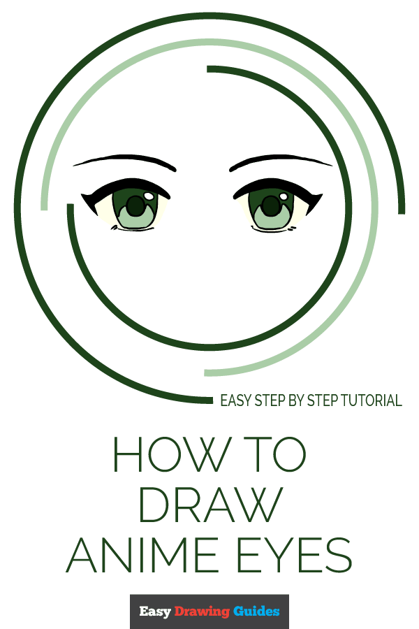 Anime Eyes Easy To Draw : anime, Anime, Really, Drawing, Tutorial