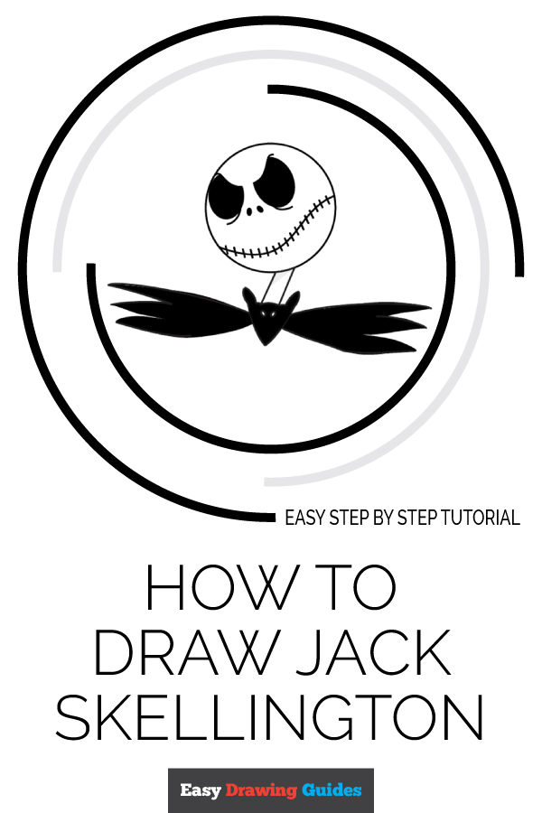 How to Draw Jack Skellington in a Few Easy Steps