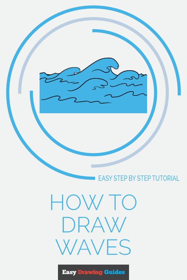 How To Draw Cartoon Waves : cartoon, waves, Waves-, Really, Drawing, Tutorial