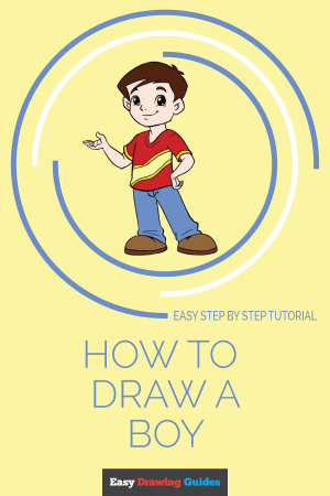 boy draw drawing easy drawings boys mexican step steps doodle tutorial pirates easydrawingguides paintingvalley