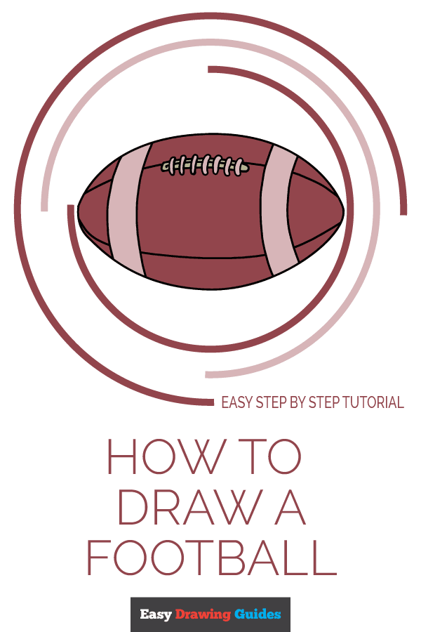 Football Drawing Easy : football, drawing, Football, Really, Drawing, Tutorial