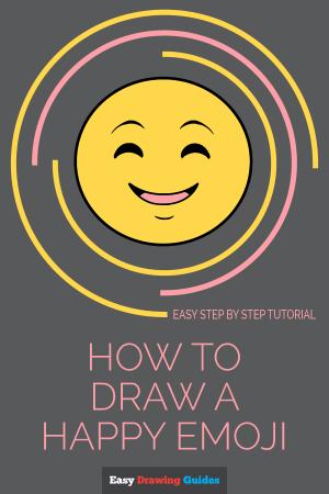 emoji happy draw faces emojis tutorial easy drawing face cartoon drawings line save makes
