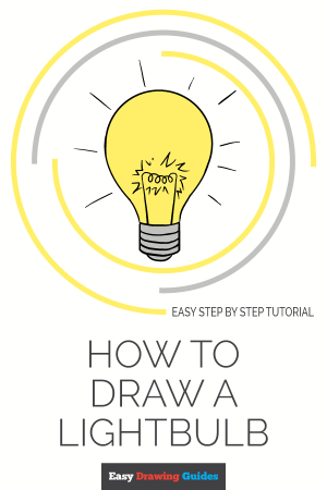 draw bulb drawing tutorial easy save lightbulb drawings paintingvalley