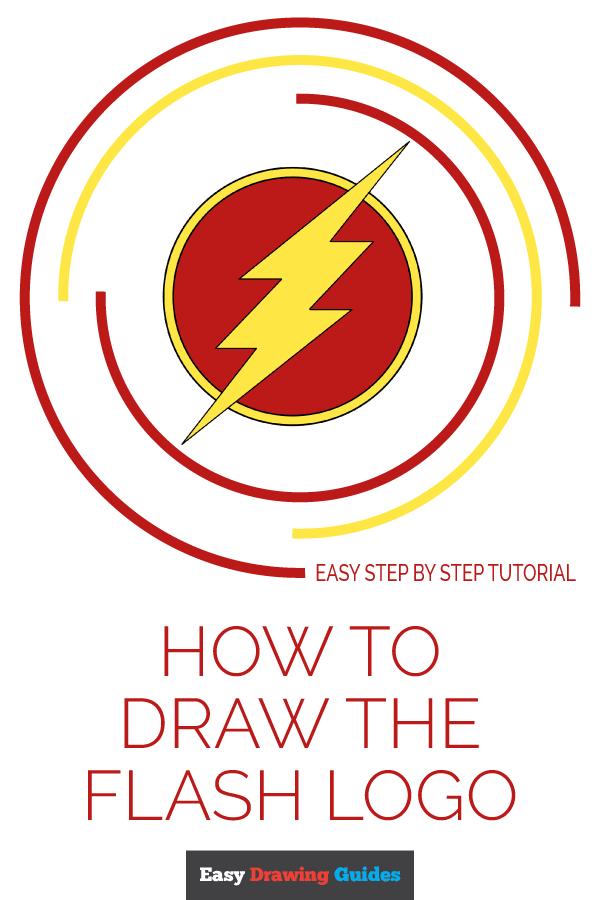 Flash Logo Drawing : flash, drawing, Flash, Really, Drawing, Tutorial