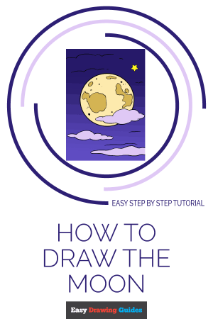 moon drawing draw easy tutorial simple sun really realistic clipartmag save globe