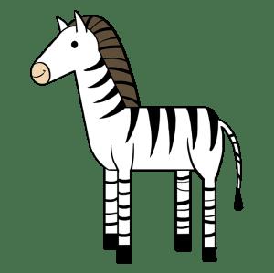 zebra draw drawing easy zebras step stripes
