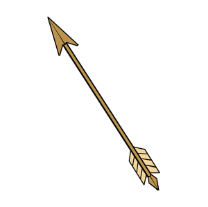 arrow drawing draw easy drawings paintingvalley step down pdf tutorial clipartmag native american
