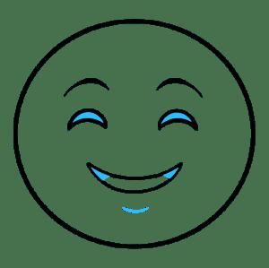 emoji happy face draw smiley drawings drawing emojis emoticon easy line step paintingvalley really eye tutorial