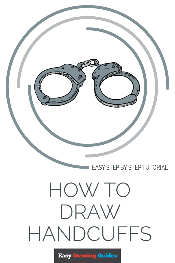 Handcuffs Drawing Easy : handcuffs, drawing, Handcuffs, Really, Drawing, Tutorial