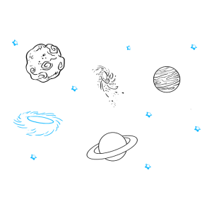 space planets draw drawing easy drawings planet tutorial easydrawingguides step galaxy object