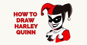 quinn harley draw easy drawing