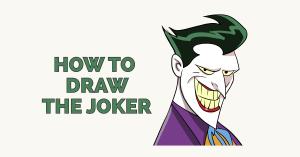 joker draw easy drawing