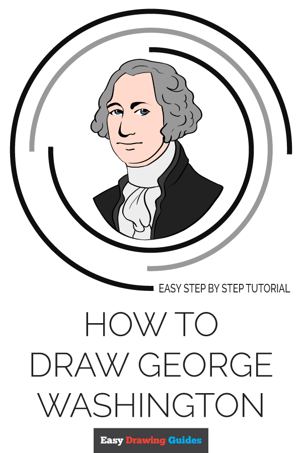 George Washington Drawing Easy : george, washington, drawing, George, Washington, Really, Drawing, Tutorial