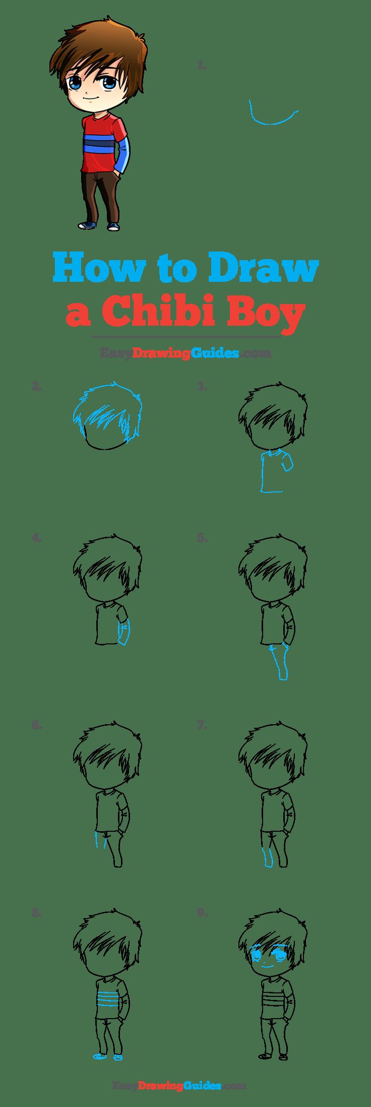 How To Draw A Chibi Boy : chibi, Chibi, Really, Drawing, Tutorial