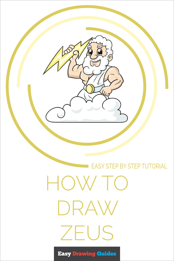 Zeus Easy Drawing : drawing, Really, Drawing, Tutorial