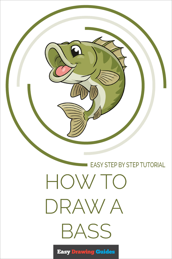 Bass Drawing Easy : drawing, Really, Drawing, Tutorial
