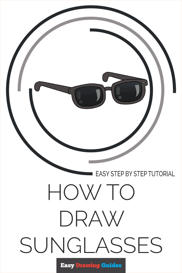 Sunglasses Drawing Easy : sunglasses, drawing, Sunglasses, Really, Drawing, Tutorial