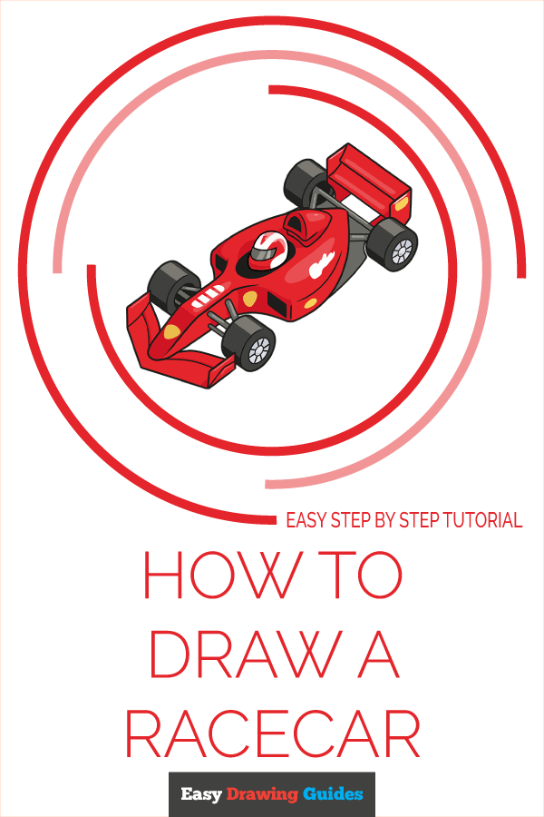 How To Draw A Race Car : Racecar, Really, Drawing, Tutorial