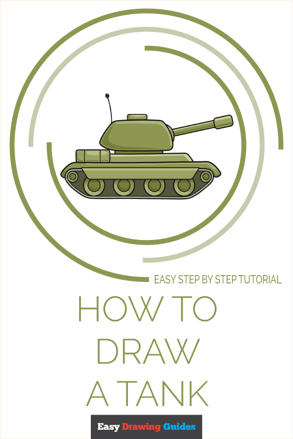 How To Draw A Tank Easy : Really, Drawing, Tutorial