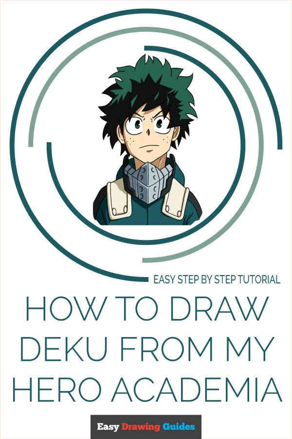 pics How To Draw My Hero Academia Characters Deku how to draw deku from my hero academia