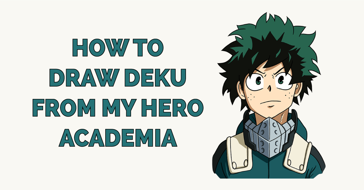 picture How To Draw My Hero Academia Characters Deku how to draw deku from my hero academia