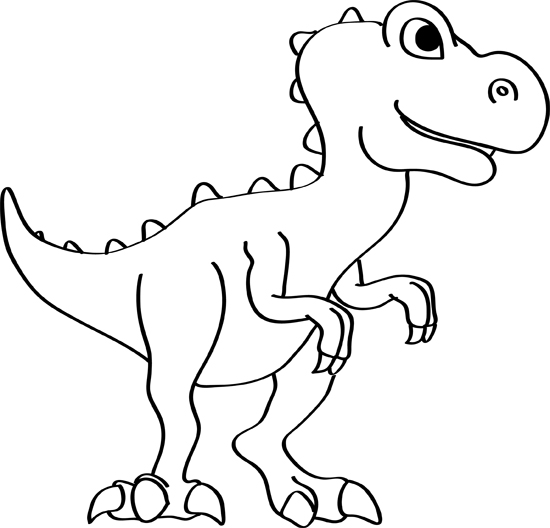 Dinosaur Drawings How To Draw A Dinosaur Step By Step
