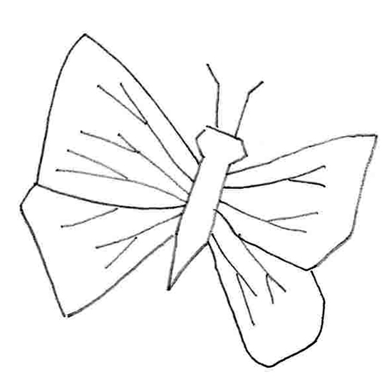 Butterfly Drawing How To Draw A Butterfly Easy Drawings Easy