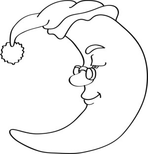 moon draw easy drawing drawings eyes far give