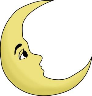 moon drawing drawings draw simple easy