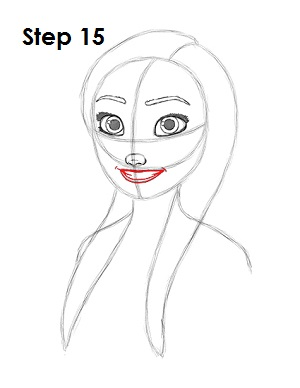 How to Draw Anna (Frozen)