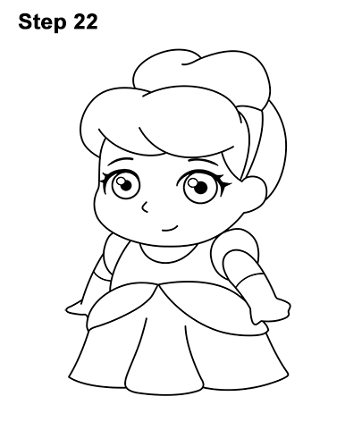 How to Draw Cinderella (Mini)