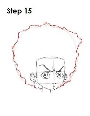 How to Draw Huey Freeman