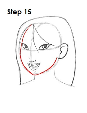 How to Draw Mulan