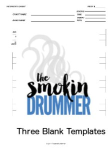 Three Blank Chart Templates